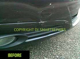 Car Bumper Repairs Before3