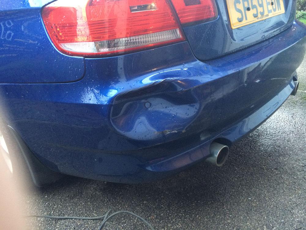Plastic Car Bumper Crack Repair